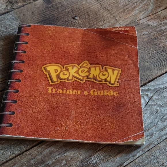 Pokemon paper book
